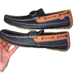 Levi's men's slip on comfort loafers Size 9